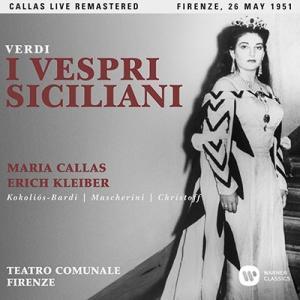 マリア・カラス Verdi: I Vespri Siciliani (Firenze 26 May.1951) CD