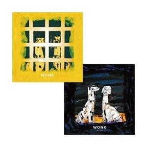 WONK 「Castor」 + 「Pollux」セット(同時購入特典: ダウンロードカード + 抽選応募ハガキ) CD