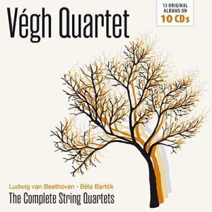 ヴェーグ四重奏団 Beethoven, Bartok: Complete String Quartets CD