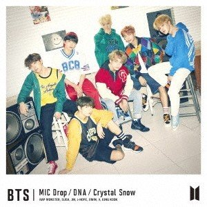 BTS (防弾少年団) MIC Drop/DNA/Crystal Snow (A) [CD+DVD]<初回限定盤> 12cmCD Single 特典あり