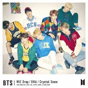 BTS (防弾少年団) MIC Drop/DNA/Crystal Snow (C) [CD+フォトブックレット]<初回限定盤> 12cmCD Single 特典あり