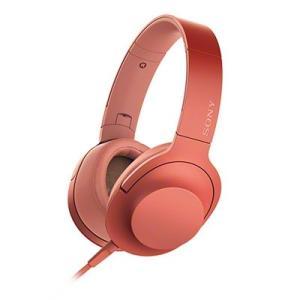 SONY ハイレゾ対応 ヘッドホン h.ear on 2 MDR-H600A トワイライトレッド H...