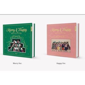 TWICE Merry&Happy: 1st Album Repackage (ランダムバージョン)...