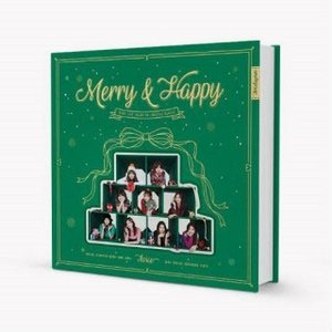 TWICE Merry&Happy: 1st Album Repackage (Merry Ver.) CD