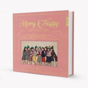 TWICE Merry&Happy: 1st Album Repackage (Happy Ver.) CD