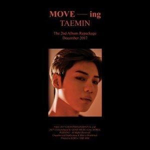 テミン Move-ing: Taemin Vol.2 (Repackage) CD 特典あり