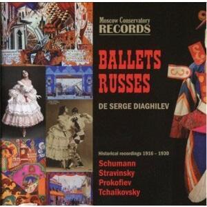 エルネスト・アンセルメ Ballets Russes de Serge Diaghilev - Historical Recordings 1916-1930s - Schumann, Stravin CD