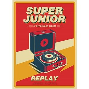 SUPER JUNIOR Replay: Super Junior Vol.8 Repackage CD