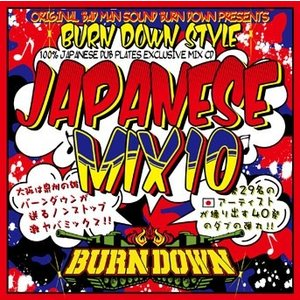 BURN DOWN 100% JAPANESE DUB PLATES EXCLUSIVE MIX CD BURN DOWN STYLE JAPANESE MIX 10 CD