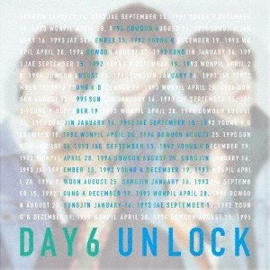 DAY6 UNLOCK [CD+DVD]<初回限定盤> CD ※特典あり