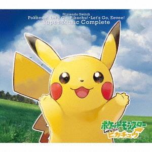 Nintendo Switch ポケモンLet's Go! ピカチュウ・Let's Go! イーブイ スーパーミュージック・コンプリート CD