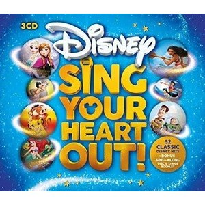 Various Artists Sing Your Heart Out Disney CD