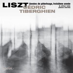 セドリック・ティベルギアン リスト: 巡礼の年第3年&後期ピアノ作品集 CD