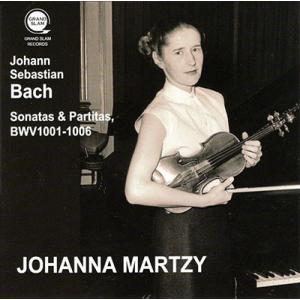 ヨハンナ・マルツィ J.S. バッハ: 無伴奏ヴァイオリンのためのソナタとパルティータ BWV1001-1006 CD タワーレコード PayPayモール店
