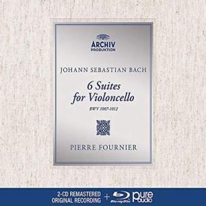 ピエール・フルニエ J.S.バッハ: 無伴奏チェロ組曲 [2CD+Blu-ray Audio] CD