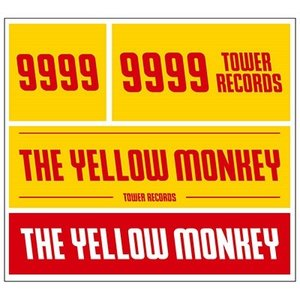 THE YELLOW MONKEY THE YELLOW MONKEY × TOWER RECORDS ステッカー Accessories|tower