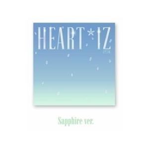IZ*ONE HEART*IZ: 2nd Mini Album (Sapphire Ver.) CD ※特典あり