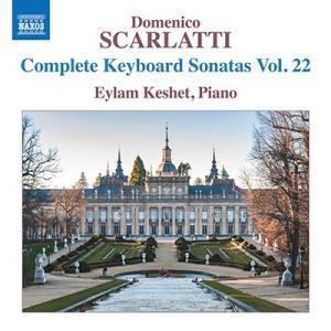 エイラム・ケシェト D.スカルラッティ: ピアノ・ソナタ全集 第22集 CD