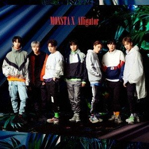 MONSTA X Alligator<通常盤[初回プレス限定]> 12cmCD Single ※特典あり|tower