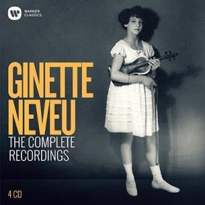 ジネット・ヌヴー ワーナー録音全集 CD