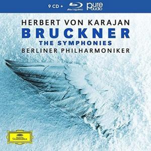 ヘルベルト・フォン・カラヤン ブルックナー: 交響曲全集 [9CD+Blu-ray Audio] CD