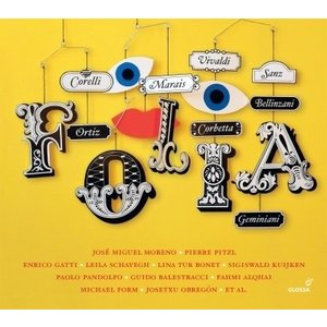Various Artists 様々な作曲家によるフォリア集 CD