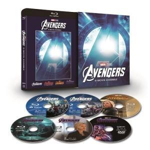 アベンジャーズ:4ムービー・アッセンブル [5Blu-ray Disc+DVD]<数量限定版> Blu-ray Disc