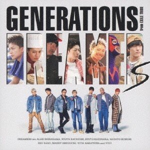 GENERATIONS from EXILE TRIBE DREAMERS [CD+DVD] 12c...