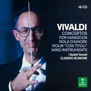 クラウディオ・シモーネ ヴィヴァルディ: 協奏曲集 CD