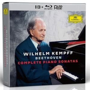 ヴィルヘルム・ケンプ ベートーヴェン: ピアノ・ソナタ全集 [8CD+Blu-ray Audio] CD