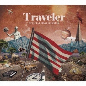Official髭男dism Traveler [CD+Blu-ray Disc]<初回限定盤/初回限定仕様> CD ※特典あり|tower