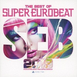 Various Artists THE BEST OF SUPER EUROBEAT 2019 CD