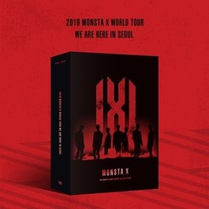 MONSTA X 2019 MONSTA X WORLD TOUR [WE ARE HERE] IN SEOUL DVD