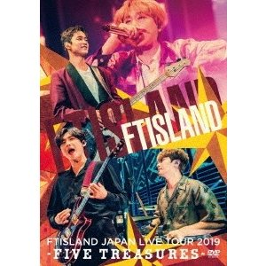 FTISLAND JAPAN LIVE TOUR 2019 -FIVE TREASURES- at WORLD HALL DVD