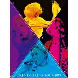 テミン TAEMIN ARENA TOUR 2019 〜XTM〜 [2Blu-ray Disc+PHOTO BOOKLET]<初回限定盤> Blu-ray Disc