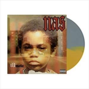 Nas Illmatic<Gold & Silver Colored Vinyl> LP
