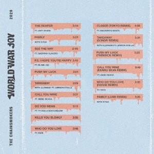 The Chainsmokers ワールド・ウォー・ジョイ CD ※特典あり