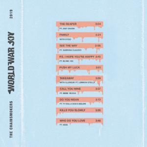 The Chainsmokers World War Joy CD