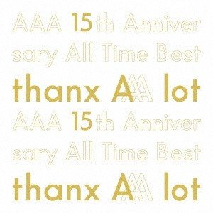 AAA AAA 15th Anniversary All Time Best -thanx AAA lot- [5CD+フォトブック]<初回生産限定盤> CD ※特典あり