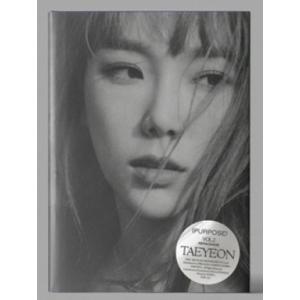 テヨン Purpose: Tae Yeon Vol.2 (Repackage)(Purple Ver.) CD ※特典あり