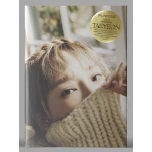 テヨン Purpose: Tae Yeon Vol.2 (Repackage)(Beige Ver.) CD ※特典あり