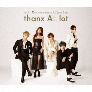 AAA AAA 15th Anniversary All Time Best thanx AAA l...