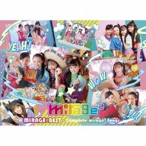 mirage2 MIRAGE☆BEST 〜Complete mirage2 Songs〜 [CD+DVD]<初回生産限定盤> CD