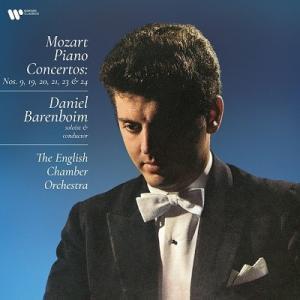 ダニエル・バレンボイム モーツァルト: ピアノ協奏曲第9、19、20、21、23、24番 (アナログ...