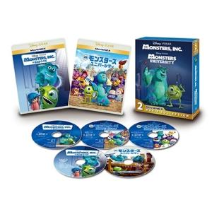 モンスターズ・インク MovieNEX 2ムービー・コレクション [3Blu-ray Disc+2DVD]<期間限定版> Blu-ray Disc|タワーレコード PayPayモール店