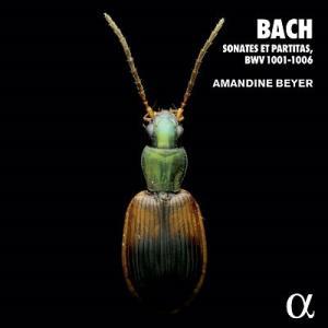 アマンディーヌ・ベイエ バッハ: 無伴奏ソナタとパルティータ CD