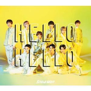 Snow Man HELLO HELLO [CD+DVD]<初回盤A> 12cmCD Single ...