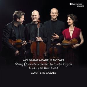カザルス弦楽四重奏団 モーツァルト: ハイドン・セット CDの画像