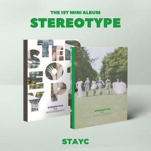 STAYC Stereotype: 1st Mini Album (ランダムバージョン) CDの画像