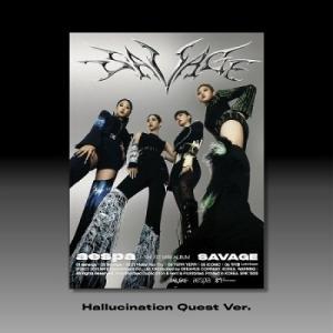 Aespa Savage: 1st Mini Album (Hallucination Quest Ver.) CD ※特典ありの画像